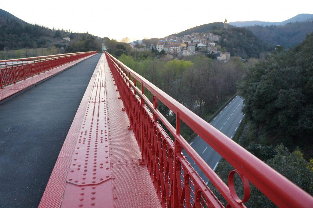 Haut-Languedoc : Olargues et le pont Eiffel