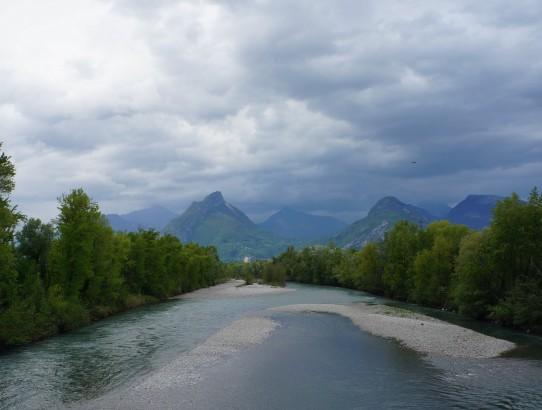 Derniers regards sur les Alpes - Demi tour du France à vélo