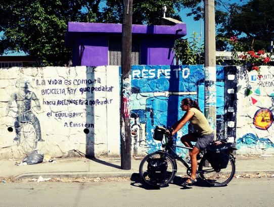 Tuxla - Mexique à vélo