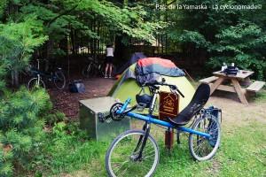 Camping au parc de la Yamaska