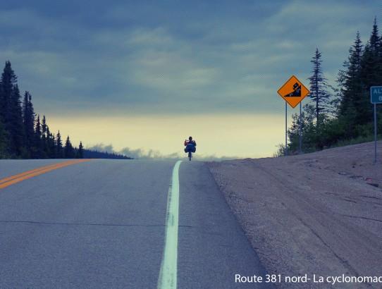 Route des montagnes - Québec en vélo couché