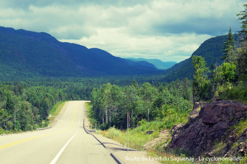Route du fjord du Saguenay