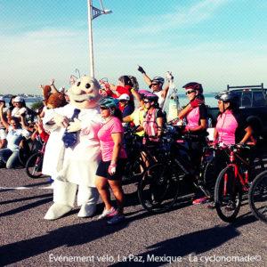 Événement vélo à La Paz