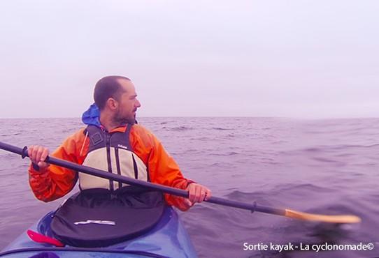 On est allé voir les baleines en kayak