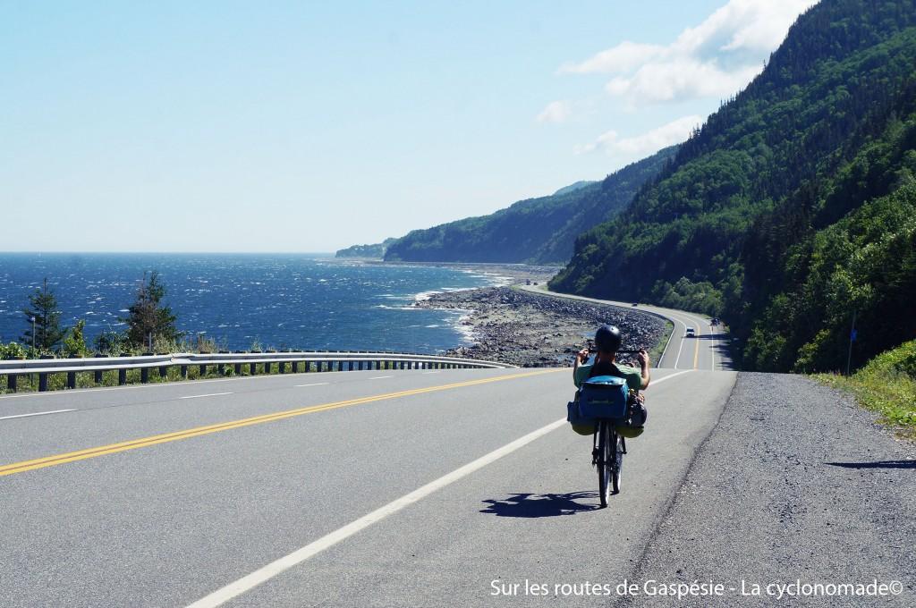 Gaspésie à vélo - québec à vélo - vacances québec à vélo - la cyclonomade