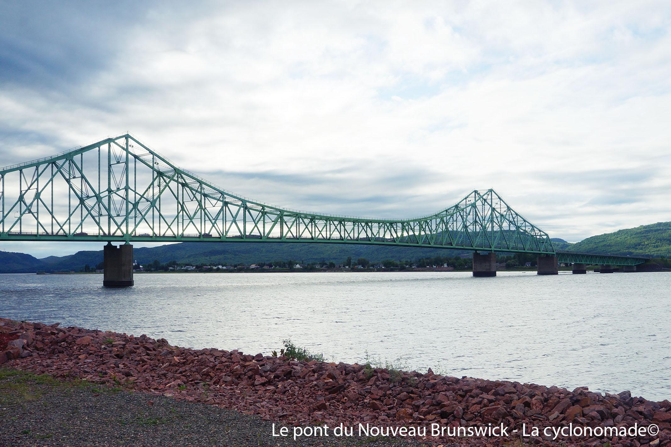 Pont d'entrée au Nouveau-Brunswick