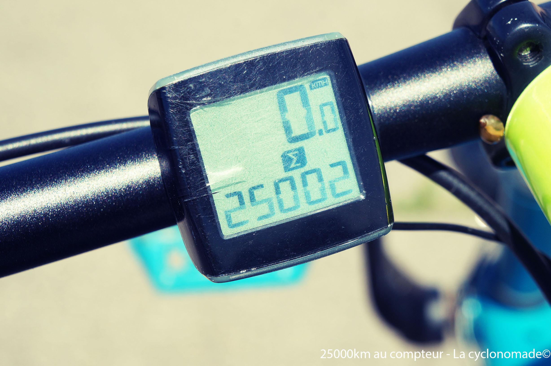 25 000 km au compteur