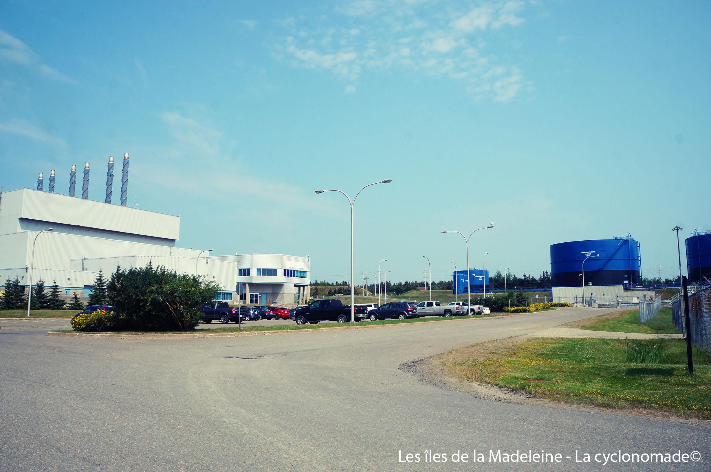 L'usine hydro-électrique