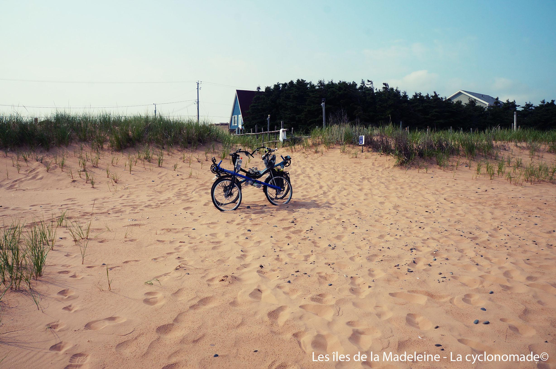 Pause sur la plage