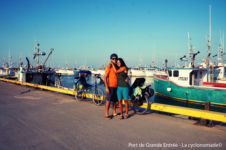 Port de Grande entrée