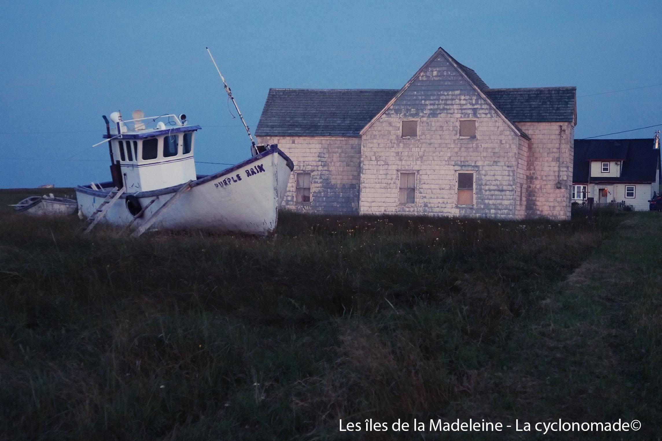Paysage des îles de la Madeleine