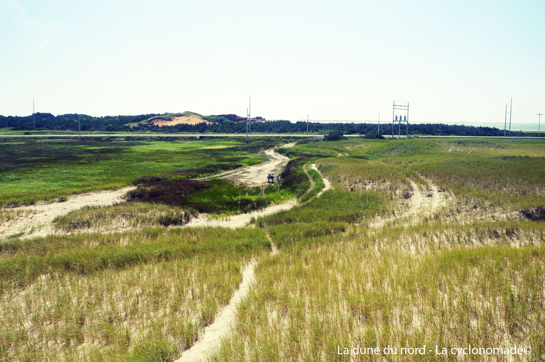 Paysages de la dune du nord