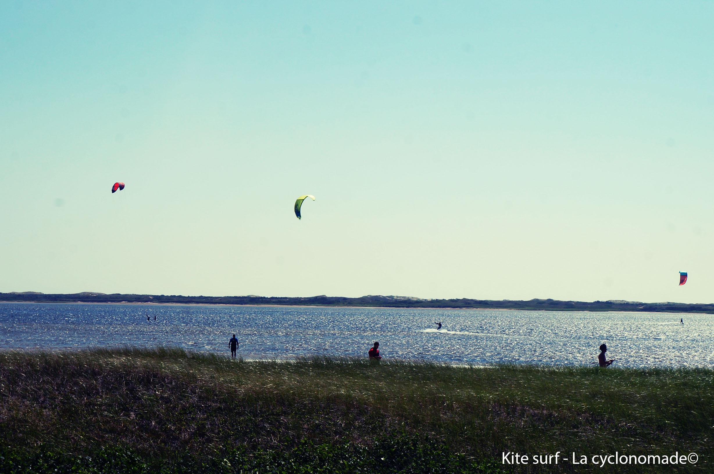 Un endroit idyllique pour le kite surf