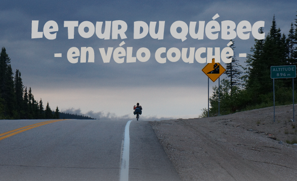 Tour du Québec en vélo couché