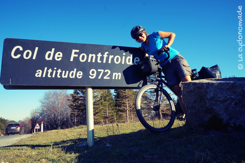 Col de Fonfroide, l'Hérault à vélo - La cyclonomade