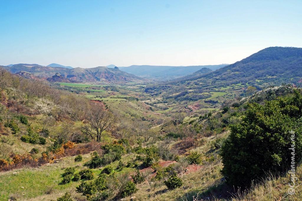 La vallée du Salagou, l'Hérault à vélo - La cyclonomade
