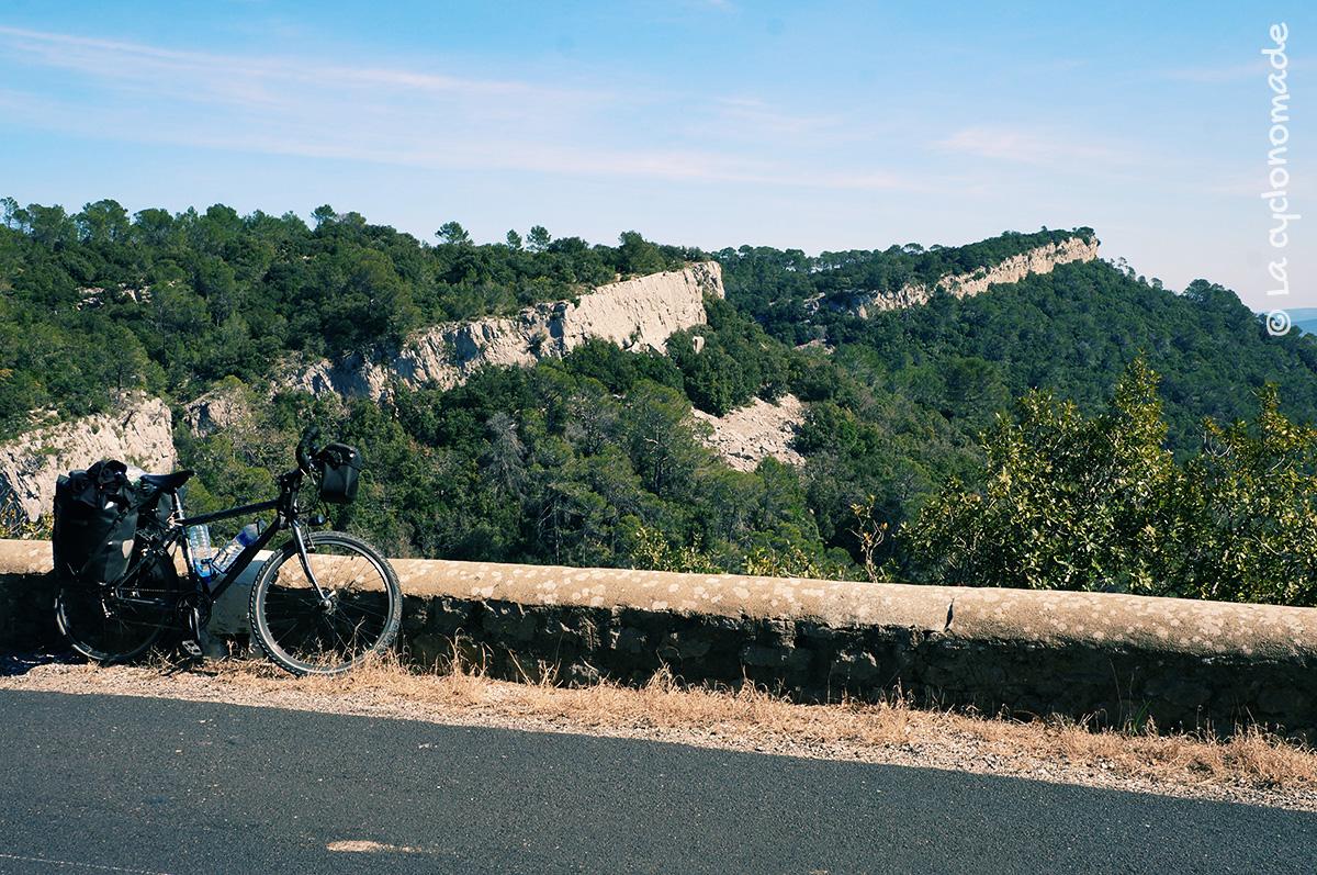 Avec un peu de hauteur, l'Hérault à vélo - La cyclonomade