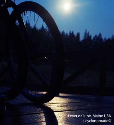 Lever de lune, Maine