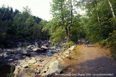 Sentier Narrow Gauge, Maine