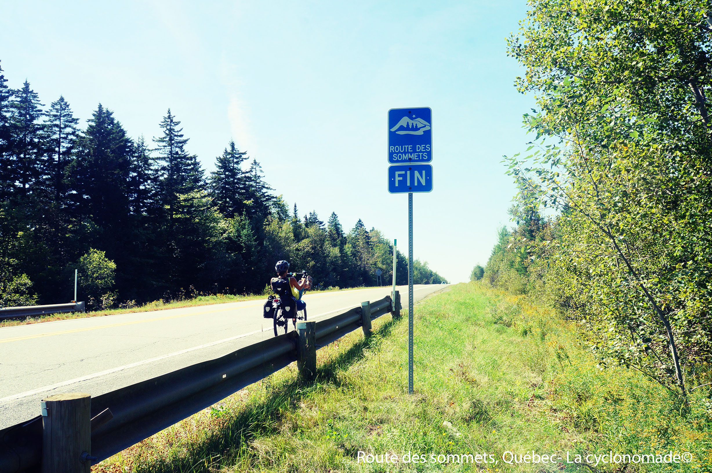 Route des sommets, Québec
