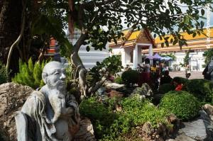 Bangkok : temple du Bouddha couché