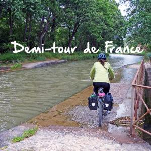 demi-tour de france à vélo