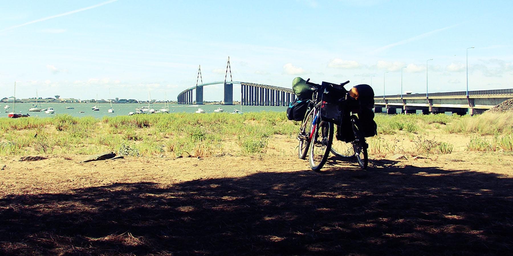 premier voyage vélo, loire à vélo, cyclotourisme, la cyclonomade, eurovélo 6, les chateaux de la loire, vallée de la loire