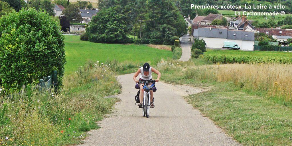 premier voyage vélo, loire à vélo, cyclotourisme, la cyclonomade, eurovélo 6, les chateaux de la loire. Loire vélo