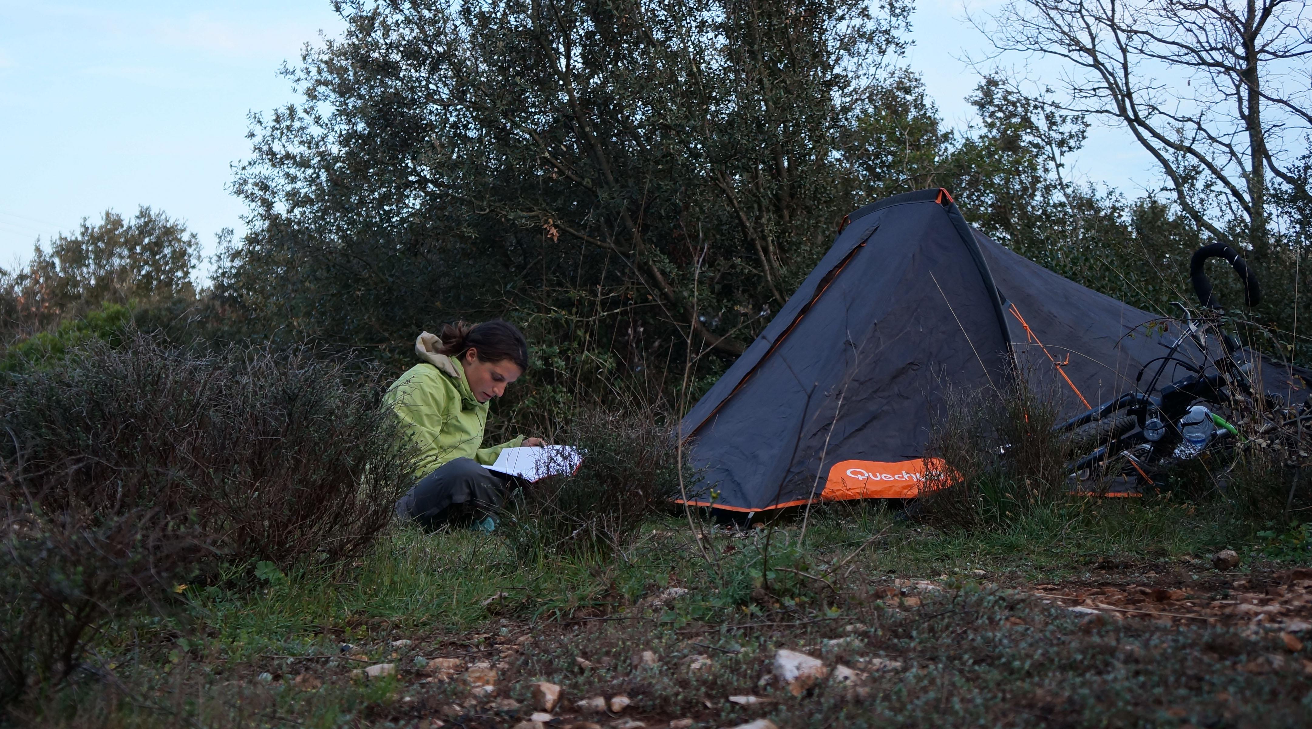 tour de l'Hérault - hérault à vélo - camping sauvage - préparer son voyage à vélo
