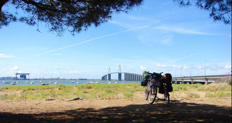 St Nazaire - Loire à vélo - Europe à vélo