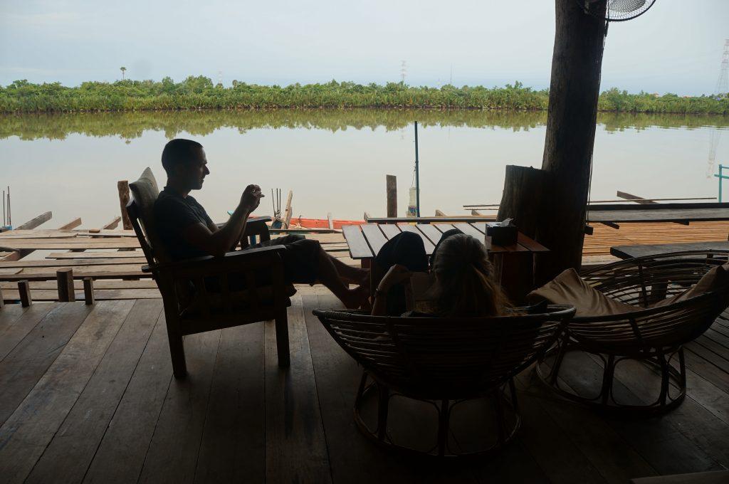 paillote à kampot - cambodge - chill - viet nam à moto