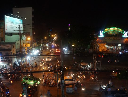 Hô Chin Minh Ville - viet nam à moto