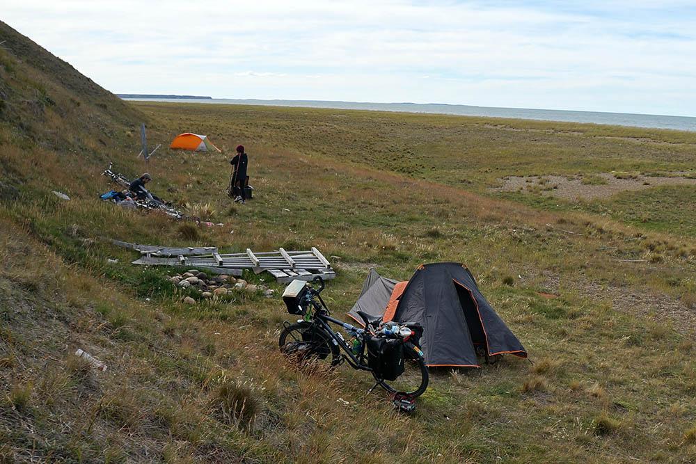 Patagonie - cyclotourisme - dormir cyclotourisme - La Cyclonomade