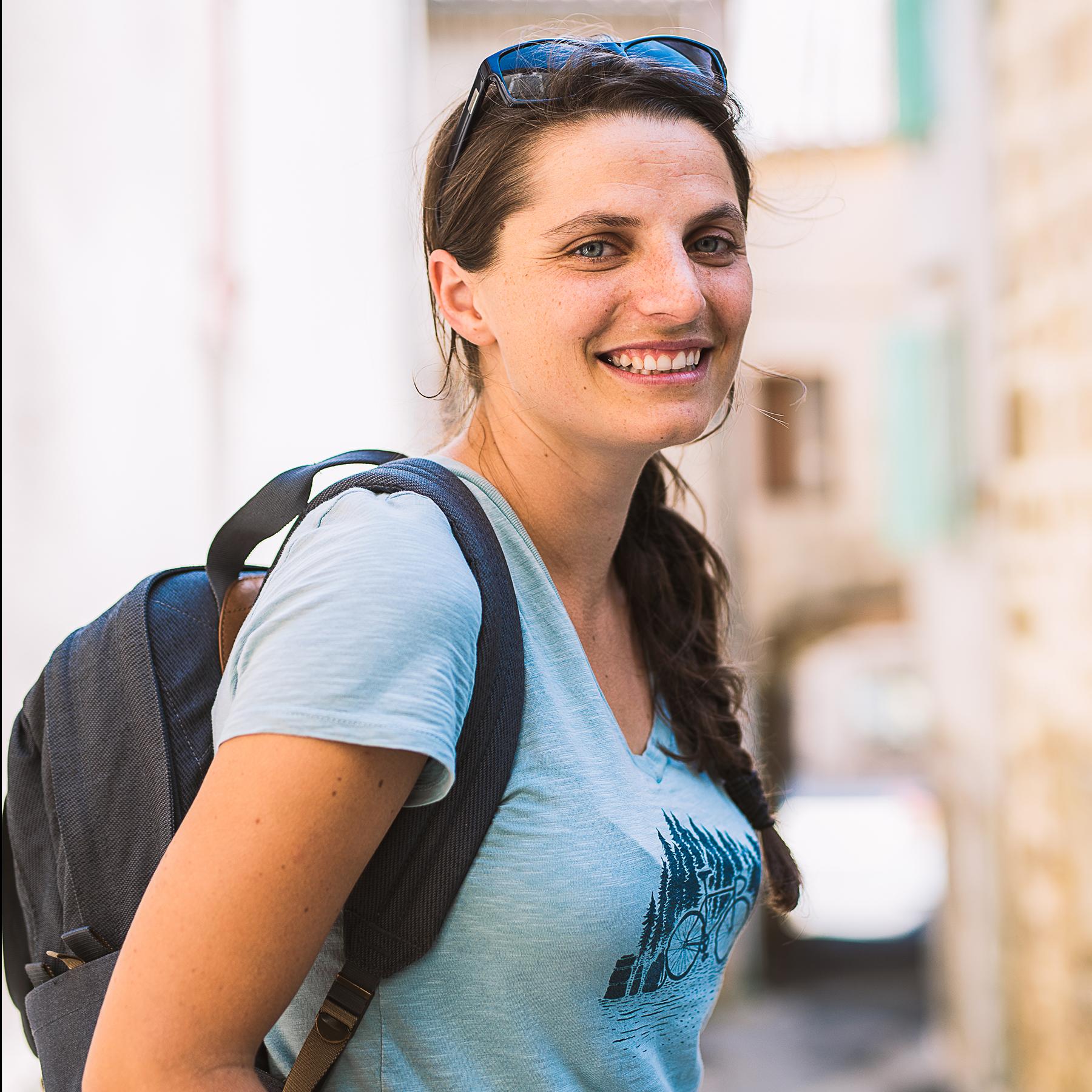 la cyclonomade - laura Pedebas - cyclotourisme - blog cyclotourisme - plateforme voyage à vélo
