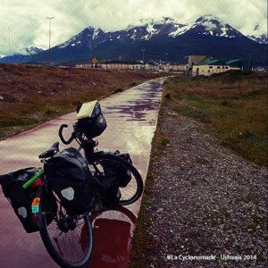 vélo cyclotourisme ushuaia