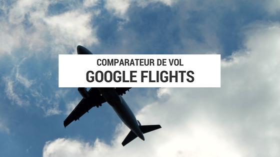google flights - comparateur de vol - cyclotourisme