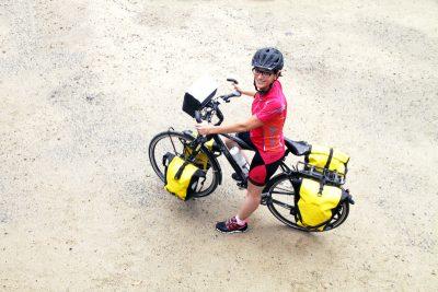 canada à vélo - cyclotourisme canada - sandrine Laporal - traversée du Canada