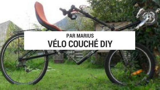 vélo couché DIY