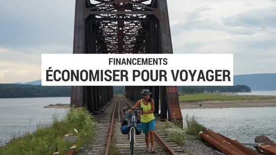 bourses de voyage - financement voyage - projet cyclotourisme - budget voyage - économiser pour voyager - financement cyclotourisme - la cyclonomade