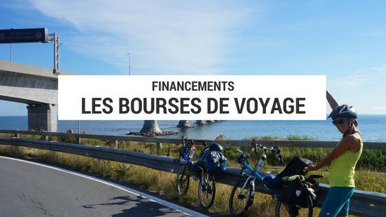 bourses de voyage - financement voyage - projet cyclotourisme - budget voyage