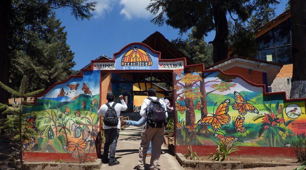 sanctuaire monarque - el rosario - sanctuaire monarque - véloroute des monarques - cyclotourisme - cyclotourisme mexique - voyage vélo - mexico - la cyclonomade