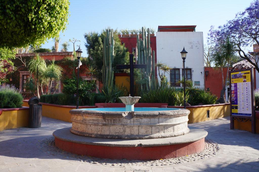 San Miguel de Allende - villes coloniales - pueblo magico - véloroute des monarques - cyclotourisme - cyclotourisme mexique - voyage vélo - mexico - la cyclonomade