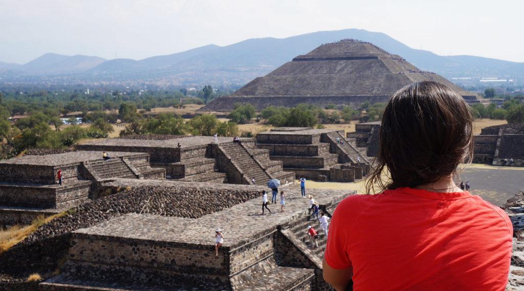 teotihuacan - mexico à vélo - cyclotourisme - voyage à vélo