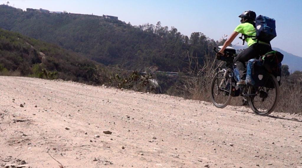 cyclotourisme - voyage ecologique - desert mexique - galère vélo - la cyclonomade