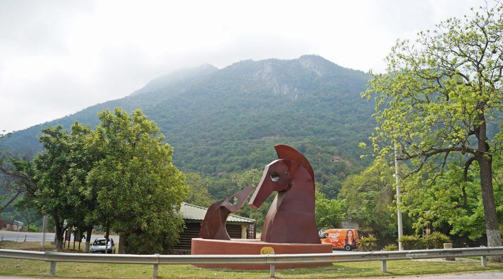 cola de caballo - santiago - monterrey - nuevo leon - cyclotourisme mexique - cyclotourisme - voyage vélo - la cyclonomade