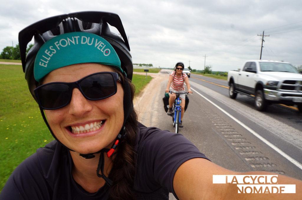 acheter vélo à l'étranger - voyage vélo - vélo avec ma maman - voyage vélo en famille - cyclotourisme - la cyclonomade - cyclotourisme états unis - southern tiers - austin