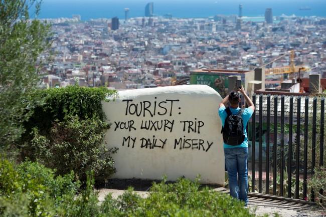 tourisme de masse - impact tourisme de masse - espagne - cyclotourisme