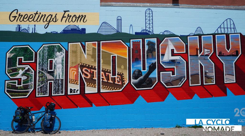 sandusky - camping sauvage - ohio à vélo - usa à vélo - états-unis à vélo - cyclotourisme - voyager à vélo - voyage vélo - la cyclonomade - véloroute des monarques