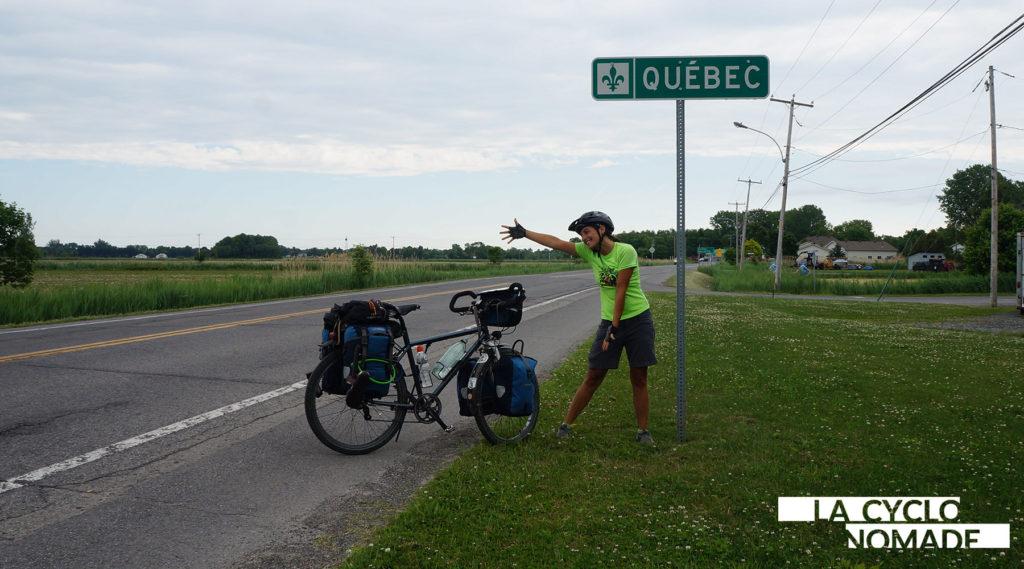 fin du voyage - québec - québec à vélo - la cyclonomade - cyclotourisme - voyage vélo - voyage à vélo - voyager à vélo