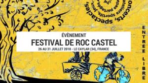 festival du voyage lent - roc castel - festival vélo - festival cyclotourisme - evenement vélo - cyclotourisme - voyage vélo - la cyclonomade